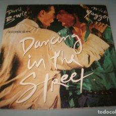 Discos de vinilo: DAVID BOWIE Y MICK JAGGER ...MAXISINGLE DE EMI - EXTENDED VERSION . 1985. Lote 151331318