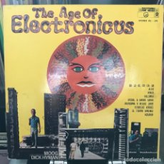 Discos de vinilo: DICK HYMAN ‎– THE AGE OF ELECTRONICUS 1969 GAT ARGENTINA NEW. Lote 151331846