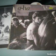 Discos de vinilo: A-HA - HUNTING HIGH AND LOW ..LP DE VINILO - 1985 - 1ª EDICION ..INCLUYE EL Nº 1 .TAKE ON ME. Lote 151332010
