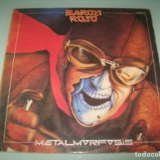 Discos de vinilo: BARON ROJO - METALMORFOSIS ...LP DE SPAIN - CHAPA DISCOS 1983 .. 1ª EDICION. Lote 151333702