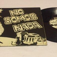 Discos de vinilo: LA POLLA RECORDS - NO SOMOS NADA, LP GATEFOLD, 1987, ESPAÑA, PRIMERA EDICIÓN TXATA. Lote 151338958