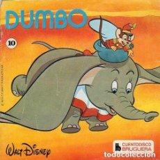 Discos de vinilo: WALT DISNEY – DUMBO (Nº 10) - EP PROMO GATEFOLD SPAIN (DISCO + CUENTO). Lote 151343726