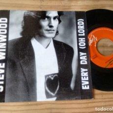 Discos de vinilo: SINGLE (VINILO)-PROMOCION- DE STEVE WINWOOD AÑOS 90. Lote 151349946