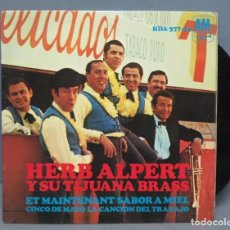 Discos de vinilo: EP. HERB ALPERT AND THE TIJUANA BRASS. ET MAINTENANT . Lote 151351534