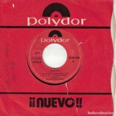 Disques de vinyle: RAFA - EN GALICIA / NUBES, VIENTO, ALGAS Y SAL (SINGLE ESPAÑOL, POLYDOR 1971). Lote 151351878