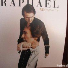 Discos de vinilo: DOBLE LP RAPHAEL RESINPHONICO //MI GRAN NOCHE // YO SOY AQUEL // HABLEMOS DEL AMOR // NO VUELVAS //. Lote 151352746