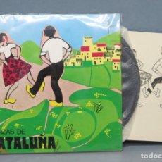Discos de vinilo: EP. DANZAS DE CATALUÑA. COLECCION DIDO. Lote 151353498