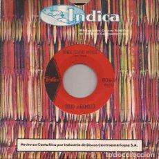 Discos de vinilo: SINGLE JULIO JARAMILLO DONDE ESTABAS ANOCHE/EL AMOR ES UN ARTE INDICA 1326 COSTA RICA. Lote 151353738