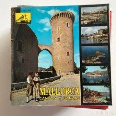 Discos de vinilo: AIRES DE MONTANYA, DE SELVA - MALLORCA CANTOS Y DANZAS - EP LA VOZ DE SU AMO 1962 - CON LIBRETO . Lote 151357258