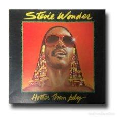 Discos de vinilo: STEVIE WONDER - HOTTER THAN JULY. Lote 151360302