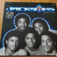 Discos de vinilo: MAXI SINGLE LOVELY ONE MICHAEL JACKSON THE JACKSONS. Lote 151362910