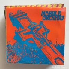 Discos de vinilo: MARBLE ORCHARD - SOMETHING HAPPENS / EVER THINK ABOUT ME? - SINGLE ESTRUS USA 1990 - VINILO GRIS . Lote 151369610