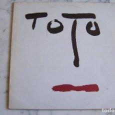 Dischi in vinile: LP TOTO. TURN BACK. CBS, 1981.. Lote 206169137