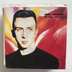 Discos de vinilo: MARC ALMOND - THE DESPERATE HOURS - SINGLE PARLOPHONE ITALIA 1990 . Lote 151370862