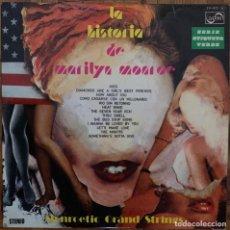 Discos de vinilo: MONROETIC GRAND STRINGS?– LA HISTORIA DE MARILYN MONROE SELLO: ZAFIRO — ZV-872 FORMATO: VINYL, LP . Lote 151371926