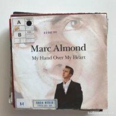 Discos de vinilo: MARC ALMOND - MY HAND OVER MY HEART / DEADLY SERENADE -SINGLE WEA ALEMANIA 1991 . Lote 151371934