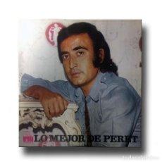 Discos de vinilo: PERET - LO MEJOR DE PERET. Lote 151374754