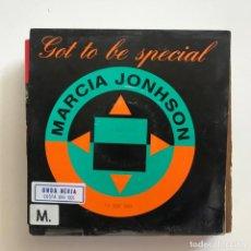 Discos de vinilo: MARCIA JOHNSON - GOT TO BE SPECIAL - SINGLE BOY 1993 PROMO UNA CARA. Lote 151375366