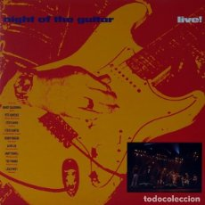 Discos de vinilo: NIGHT OF THE GUITAR. LIVE!. Lote 151375994
