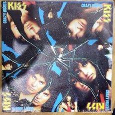Discos de vinilo: KISS - CRAZY CRAZY NIGHTS SG ED. ESPAÑOLA 1987. Lote 151381422