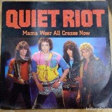 Discos de vinilo: QUIET RIOT - MAMA WEER ALL CRAZEE NOW / BAD BOY SG, PROMO ED. ESPAÑOLA 1984. Lote 151384950