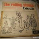 Discos de vinilo: SINGLE THE ROLLING STONES. PAINT IT, BLACK. LONG LONG WHILE. DECCA 1966 SPAIN (PROBADO Y BIEN) . Lote 151390630