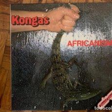 Discos de vinilo: KONGAS – AFRICANISM SELLO: POLYDOR – 23 10 601 FORMATO: VINYL, LP, ALBUM PAÍS: SPAIN FECHA: 1978 . Lote 151394254