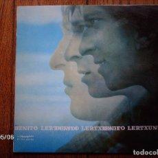 Discos de vinilo: BENITO LERTXUNDI - EZ DUT AMAIRU. Lote 151397810