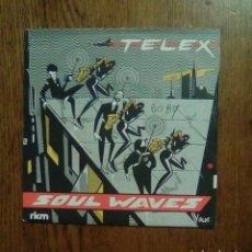 Discos de vinilo: TELEX - SOUL WAVES, VOGUE, 1980. FRANCE.. Lote 151399510