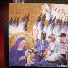 Discos de vinilo: STUPIDS- JESUS MEETS THE STUPIDS. LP.. Lote 151401358