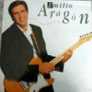 Discos de vinilo: ÁLBUM LP VINILO EMILIO ARAGON TE HUELEN LOS PIES. Lote 151410420