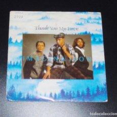 Discos de vinilo: IMAGINATION --- THANK YOU MY LOVE & POINT OF NO RETUR ----DISCO PROMO --. Lote 151412894