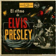 Discos de vinilo: ELVIS PRESLEY - EL RITMO DE ELVIS PRESLEY - EP SPAIN 1956 - RCA 3-20162. Lote 151415130