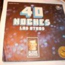 Discos de vinilo: SINGLE LOS OTROS. 40 NOCHES. QUÉ MACHO. CARNABY 1977 SPAIN DE PROMOCIÓN (PROBADO, BIEN Y SEMINUEVO). Lote 151416890
