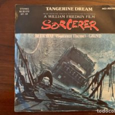 Discos de vinilo: TANGERINE DREAM ‎– BETRAYAL (SORCERER THEME) SELLO: MCA RECORDS ‎– 60 30 513 FORMATO: VINYL, 7 . Lote 151418218