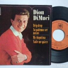 Discos de vinilo: DION DIMUCI - EP SPAIN PS - DRIP DROP - CBS AGS 20.183 - AÑO 1963. Lote 151420202
