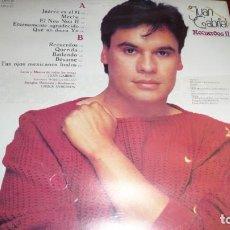 Discos de vinilo: LOTE 23 UNIDADES. JUAN GABRIEL LP, RECUERDOS II , 1991 ARIOLA MÉXICO, SIN USO, PRECINTO.. Lote 151420550