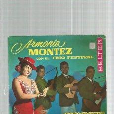 Discos de vinilo: ARMONIA MONTEZ OLE VIVA SEVILLA. Lote 151421322