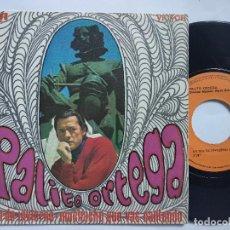 Discos de vinilo: PALITO ORTEGA - 45 SPAIN PS - MINT * UN DÍA DE INVIERNO * SKA * AÑO 1970. Lote 151422618