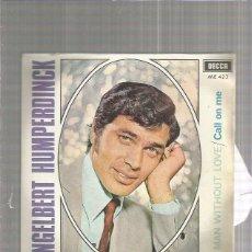 Discos de vinilo: ENGELBERT A MAN. Lote 151424914