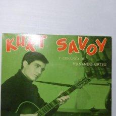 Discos de vinilo: KURT SAVOY – CABECIÑA EN HOMBRO / ERES FASCINANTE / PRINCESA / ROCK DE LA CÁRCEL - EP BUEN ESTADO -. Lote 151425602