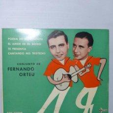 Discos de vinilo: LOS CAMPANTES - POESÍA EN MOVIMIENTO + 3 TEMAS / EP 1961 - EP BUEN ESTADO. Lote 151426266