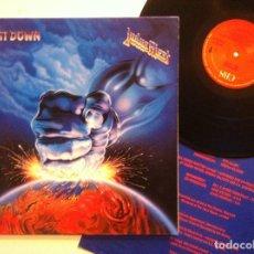 Discos de vinilo: JUDAS PRIEST - RAM IT DOWN - LP ESPAÑOL CON INSERTO 1988 - CBS. Lote 151426434