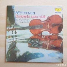 Discos de vinilo: BEETHOVEN - CONCIERTO PARA VIOLIN - LP - VINILO - DEUTSCHE - 1981. Lote 151426646