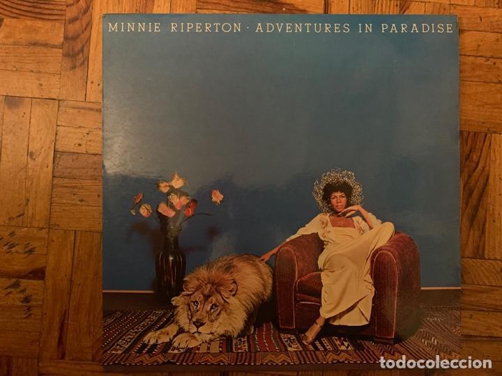 MINNIE RIPERTON ?– ADVENTURES IN PARADISE SELLO: EPIC ?– EPC 80875 FORMATO: VINYL, LP, ALBUM (Música - Discos - LP Vinilo - Funk, Soul y Black Music)