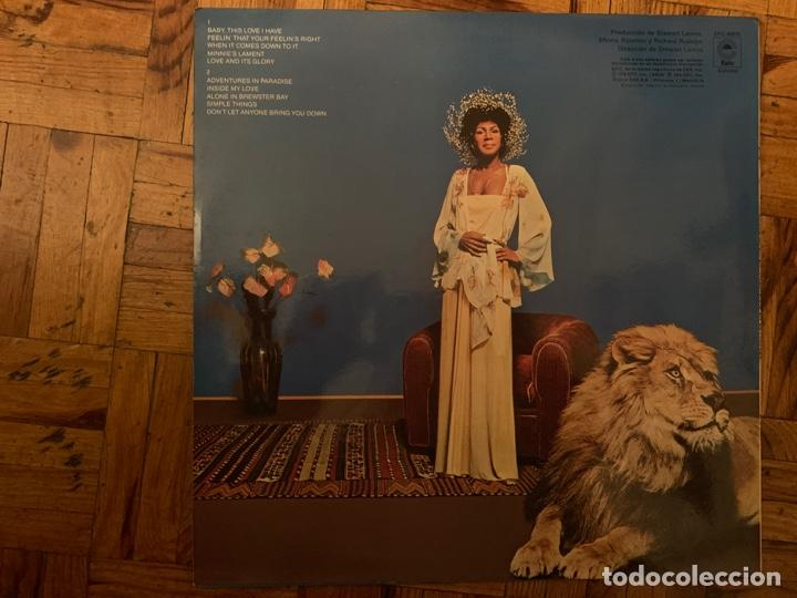 Discos de vinilo: Minnie Riperton ?– Adventures In Paradise Sello: Epic ?– EPC 80875 Formato: Vinyl, LP, Album - Foto 2 - 151426774