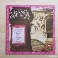 Discos de vinilo: FRANCK POURCEL - PAGES CELEBRES VOL. 5 - LP - VINILO - EMI - 1981. Lote 151427546