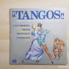 Discos de vinilo: ¡¡TANGOS!! - ORQUESTA TIPICA DE TAGOS DE BUENOS AIRES - LP VINILO - GRAMUSIC - 1977. Lote 151430630