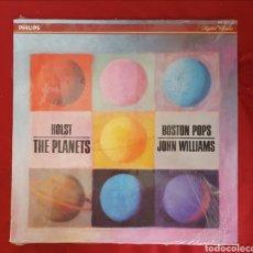 Discos de vinilo: HOLTS THE PLANETS - BOSTON POP - JOHN WILLIAMS. Lote 151430802