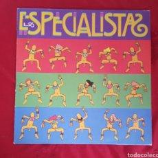 Discos de vinilo: LOS ESPECIALISTAS 1991 ENCARTE CON LETRAS. Lote 151437636